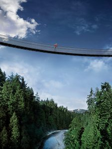 Capilano Suspension Bridge/Tourism Vancouver