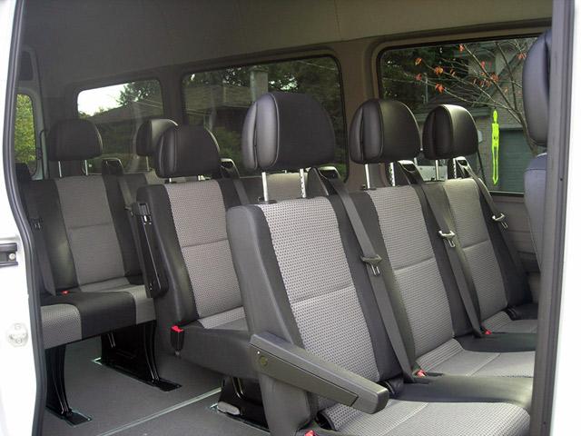 9 Amp 11 Passenger Sprinter Vans Shuttle Buses Amp Vehicles