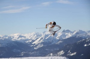 freestyle skier blackcomb