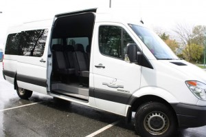Luxury Transport Passenger Sprinter Vans